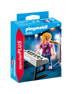 Playmobil 9095 - Zangeres met keyboard