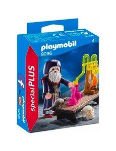 Playmobil 9096 - Tovenaar met laboratorium
