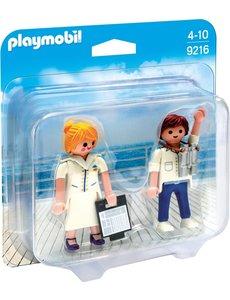 Playmobil 9216 - Steward en stewardess
