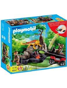 Playmobil 4847 - Schattenjager met kristaldetector