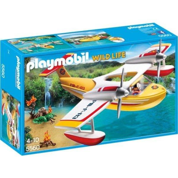 Playmobil 5560 - Brandblusvliegtuig