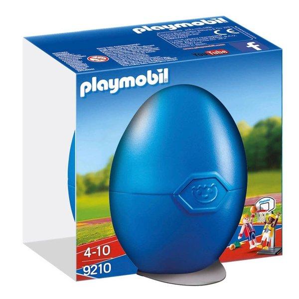 Playmobil 9210 - Basketballers met ring