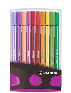 Stabilo 20 Stabilo pen 68 colorparade lila