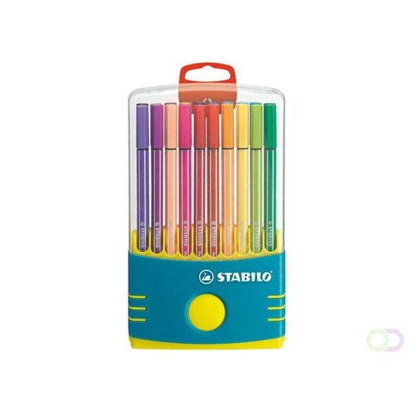 20 Stabilo pen 68 colorparade turquoise