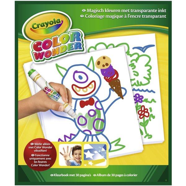 Crayola Color Wonder tekenblok