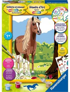 Ravensburger Schilderen op nummer - Paard