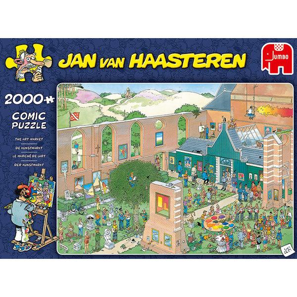 Jumbo De Kunstmarkt - 2000 stukjes