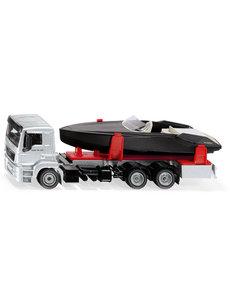 Siku 2715 - Truck met motorboot