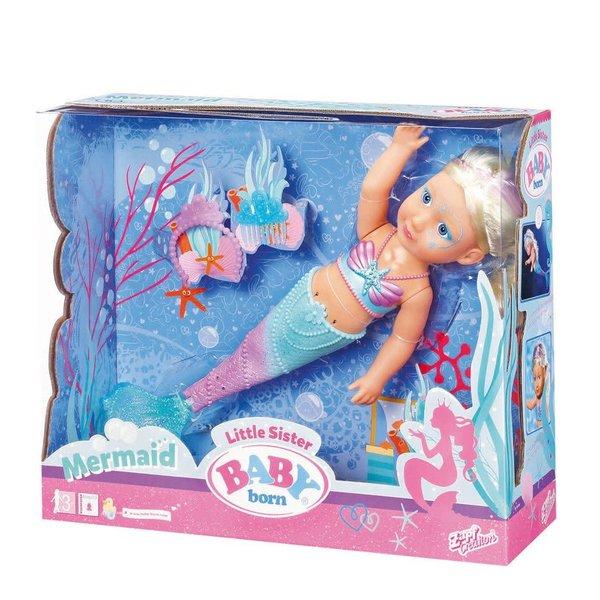 Baby born Baby Born little sister Mermaid 46 cm