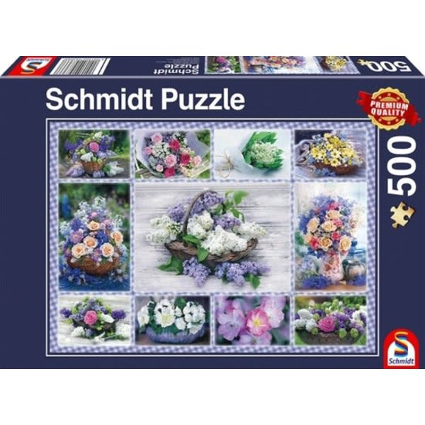 Schmidt Bloemen boeket 500 stukjes