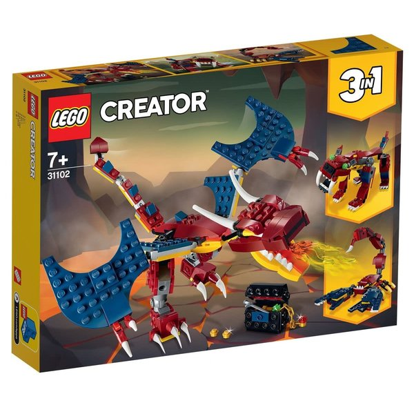 LEGO 31102 - Vuurdraak