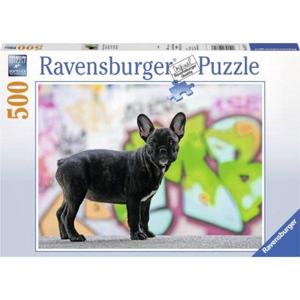 Ravensburger Franse bulldog 500 stukjes