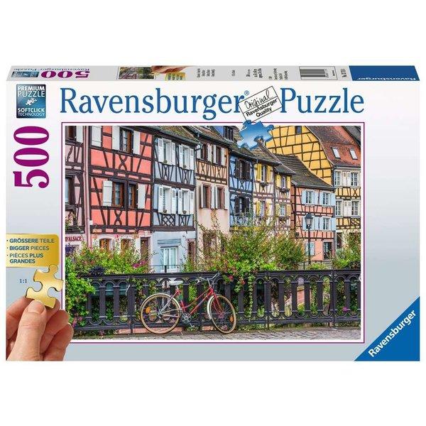 Ravensburger Colmar, Frankrijk 500 stukjes xxl