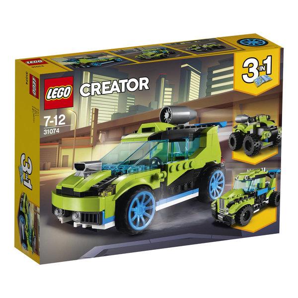 LEGO 31074 - Raket rallyauto