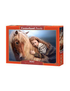 Castorland My best friend - 500 stukjes