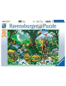 Ravensburger Harmonie in de jungle 500 stukjes