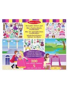 Melissa & Doug Herbruikbaar stickerboek prinsessen
