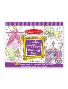 Melissa & Doug Jumbo kleurblok prinsessen