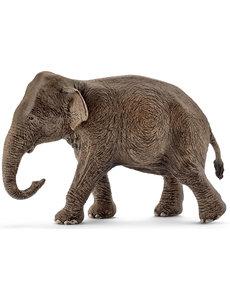 Schleich 14753 - Aziatische olifant, vrouwtje