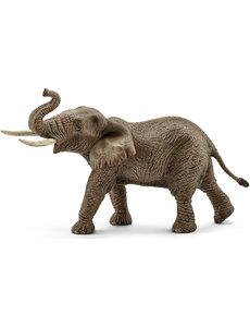 Schleich Afrikaanse olifant, mannetje - 14762