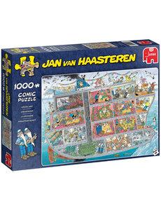 Jumbo/Jan van Haasteren Cruiseschip - 1000 stukjes