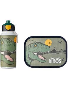 Lunch set Dinosaurus met pop-up beker