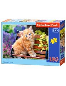 Castorland Ginger kitten, 180 stukjes