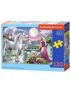 Castorland Princess and her unicorns 120 stukjes