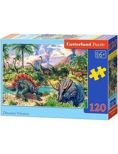 Castorland Dinosaur volcanos, 120 stukjes