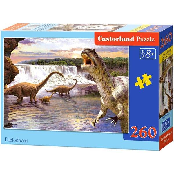 Castorland Diplodocus 260 stukjes
