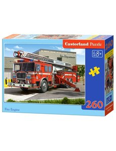 Castorland Fire engine 260 stukjes