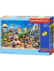 Castorland Colour of the ocean 260 stukjes
