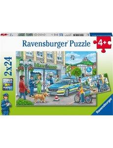 Ravensburger Onderweg met een politieagent 2x24
