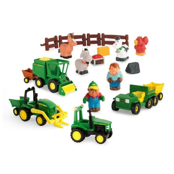 Britains JD Preschool grote boerderij speelset