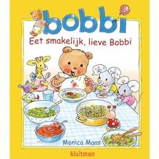 Bobbi eet smakelijk, lieve Bobbi