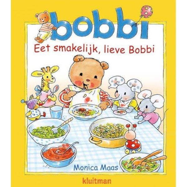 Kluitman Bobbi eet smakelijk, lieve Bobbi