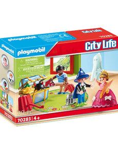 Playmobil 70283 - Kinderen met verkleedkoffer