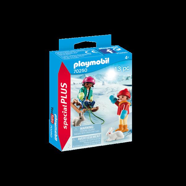 Playmobil 70250 - Kinderen met slee