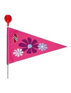 Veiligheidsvlag - SW 3 - roze bloem