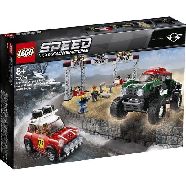 LEGO 75894 - Mini Cooper S en Mini John Cooper Works buggy