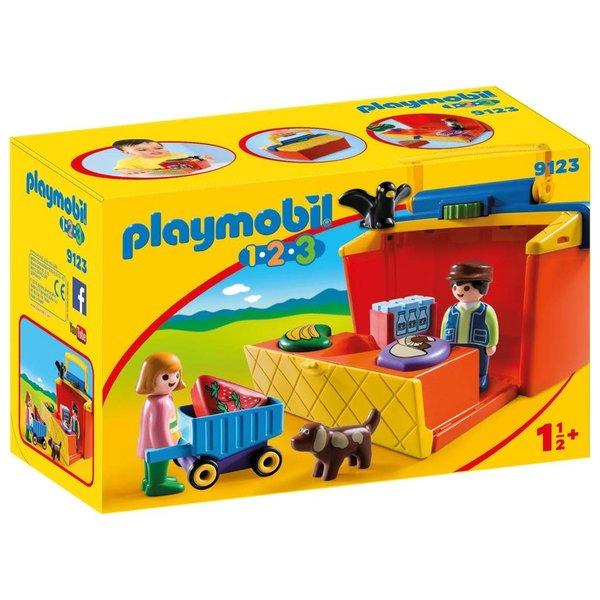 Playmobil 9123 -Marktkraam