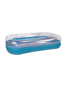 Zwembad Splash glitter 211x132x46
