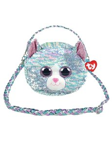 Ty Fashion Schoudertas Whimsy Cat - 20 cm