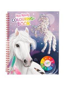 Depesche Miss Melody kleurboek met pailletten