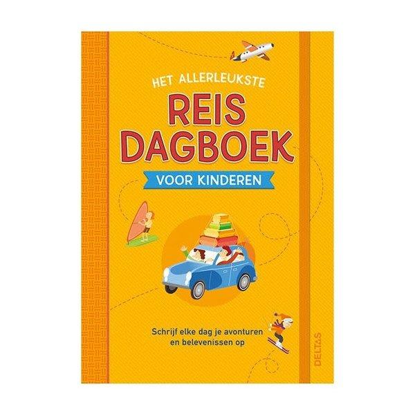 Deltas Het allerleukste reisdagboek voor kinderen