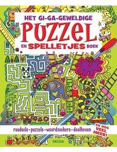 Deltas Het gi-ga-geweldige puzzel- en spelletjesboek