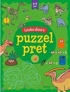 Deltas Puzzelpret - Leuke dino's (6-8 jr)