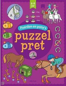 Deltas Puzzelpret - Paarden en pony's (6-8 jr)