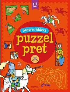 Deltas Puzzelpret - Stoere ridders (6-8 jr)