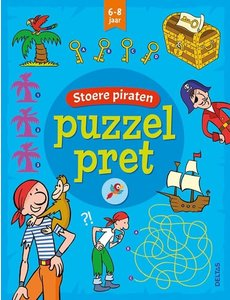 Deltas Puzzelpret - Stoere piraten (6-8 jr)